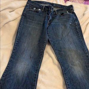Levi skinny boot cut jeans